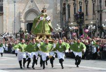 Ad Introdacqua la Pasqua di Resurrezione con La Madonna che Véle