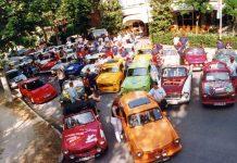 Tornano a Cesenatico le mitiche Trabant dell'ex DDR