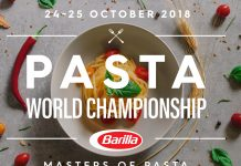 Pasta World Championship a Milano; Barilla cerca cerca il miglior giovane Pasta Chef