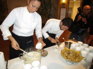Risotto Armani al tartufo bianco (Emporio Armani Ristorante)
