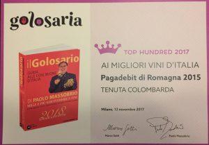 Golosaria annovera un Pagadebit cesenate fra i migliori 100 d'Italia