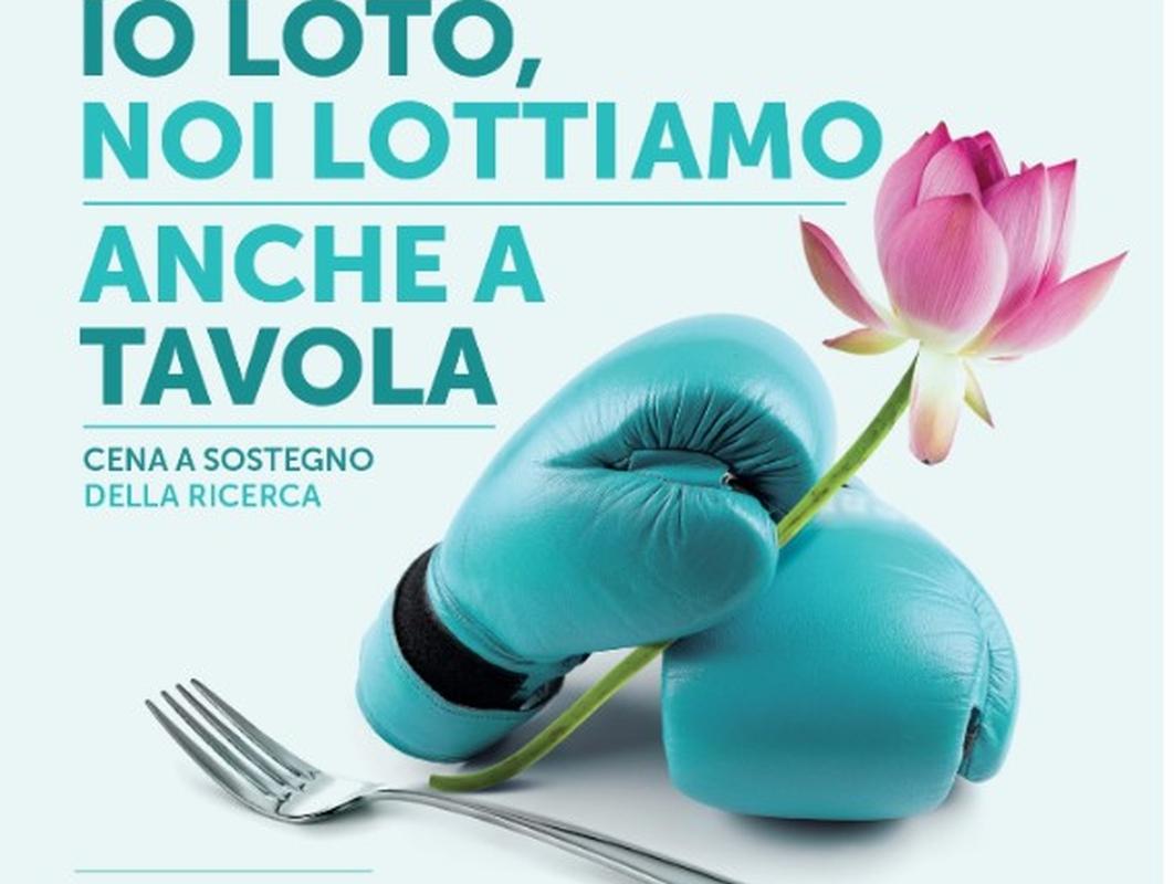 La ricerca è servita: al MAST grande cena gourmet contro il tumore ovarico