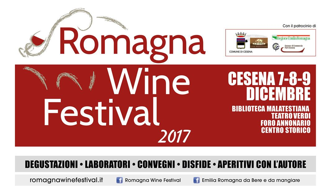 In arrivo a Cesena il Romagna Wine Festival 2017 con la disfida dei vini Sangiovese