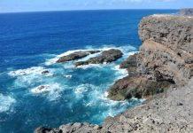 Fuerteventura: spiaggia lavica