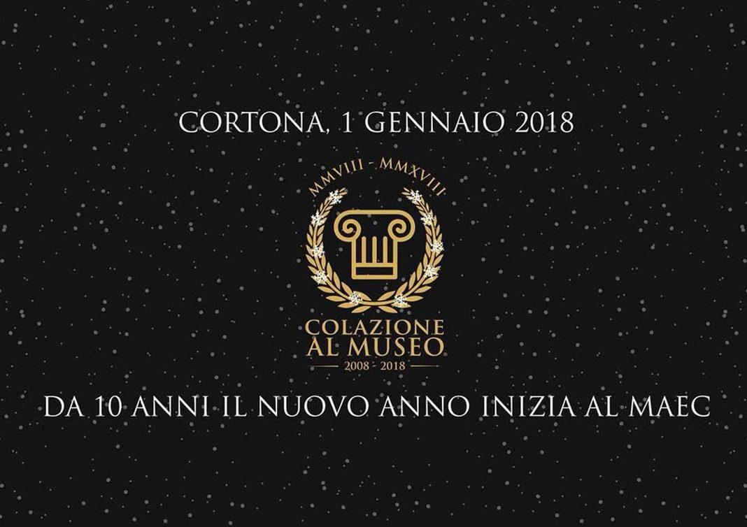 Inizio d'anno con Colazione al Museo; a Cortona si può
