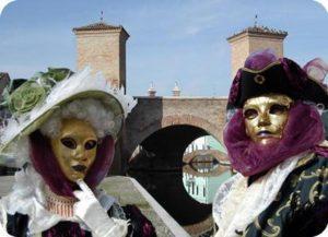 Il Carnevale di Comacchio, sull'acqua e sulla terraferma