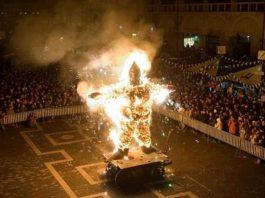 Nott de' Biso' 2018 a Faenza, dove si brucia il Niballo