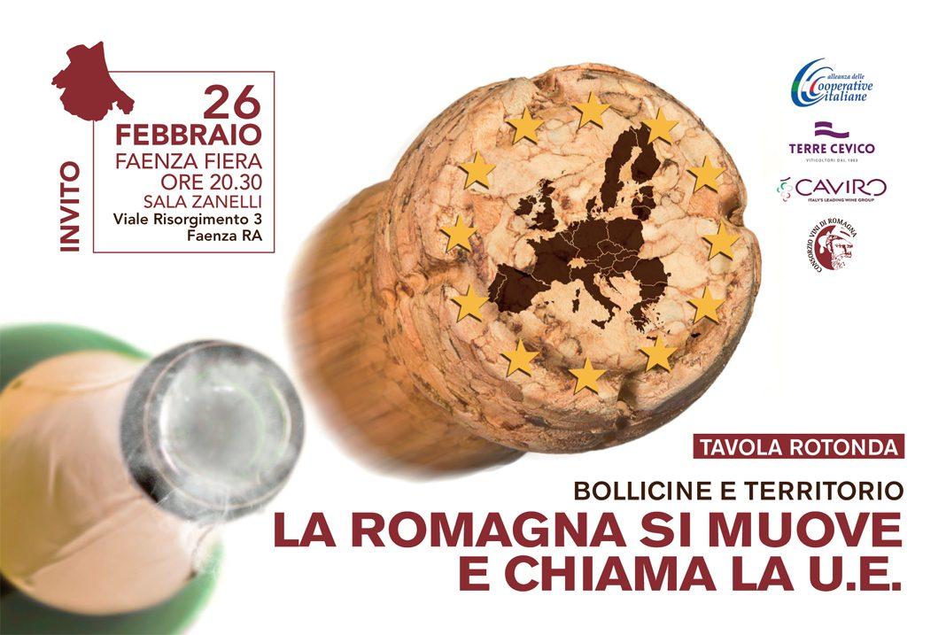 Bollicine e territorio: la Romagna si muove e chiama l'Unione Europea