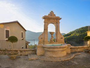 Il Polentone della prima domenica di Quaresima a Castel di Tora è servito