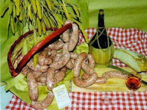 Il Barbusto, il wurstel nero tipico della Valsugana e dell'altopiano di Asiago
