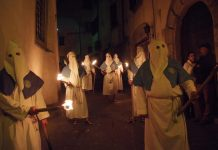 Una domenica di Passione a Oliveto Sabino tra figuranti e delizie del territorio