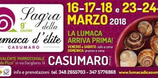 Per i buongustai, arriva la Sagra della lumaca d'elite a Casumaro di Ferrara