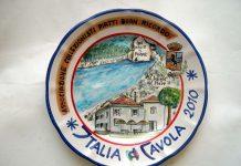 Piatto del Buon Ricordo, un souvenir che ci parla di storia e tradizione
