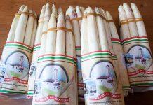 Prodotti tipici locali: l'Asparago bianco di Cantello