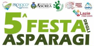 Ad Ascrea, nel reatino, 25 Aprile con la Festa degli Asparagi