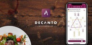 Con Decanto, l'App per abbinare cibo e vino, siamo tutti sommellier
