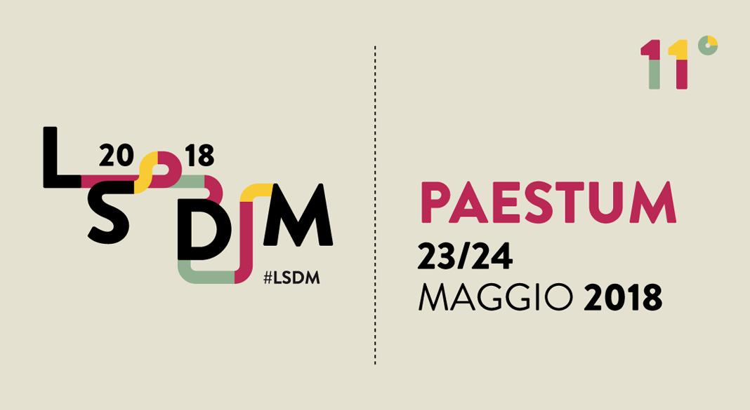 LSDM 2018; parte oggi a Paestum l'11a edizione