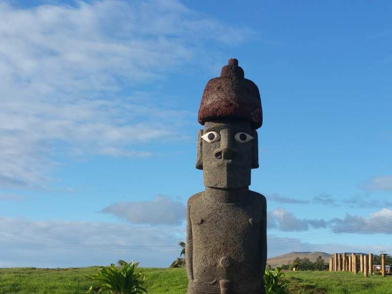 Rapa Nui - Moai con Pukao