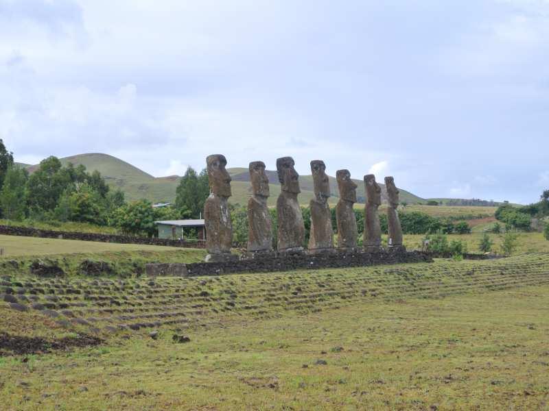 Rapa Nui - Ahu Akivi