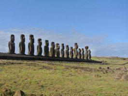 Rapa Nui - ahu tongariki-15 moai