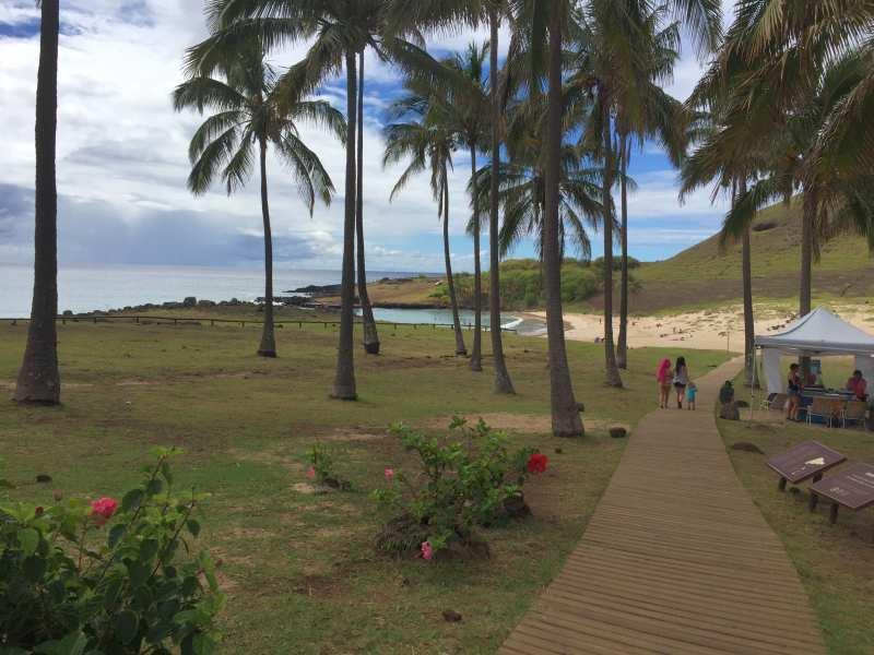 Rapa Nui - Spiaggia di Anakena