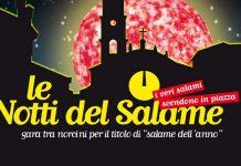Fine settimana a Campagnola Emilia, nel reggiano, con le Notti del salame