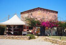 Lu Colbu - Ingresso e negozio