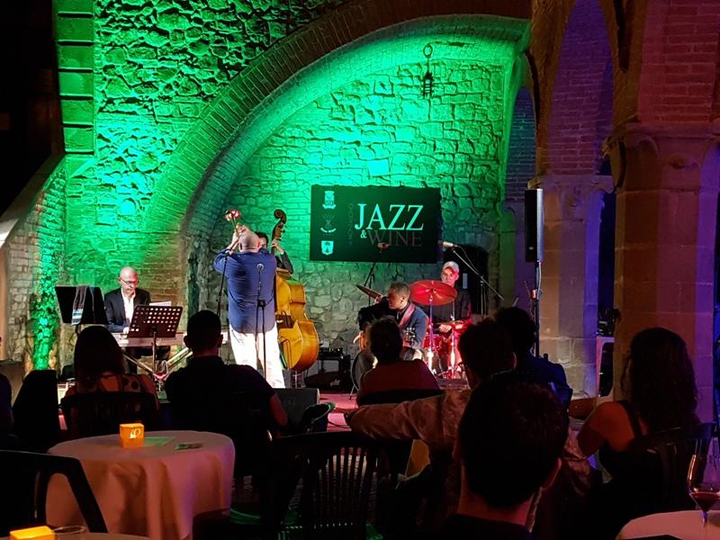 Montalcino jazz and wine