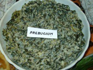 Prodotti tipici locali: il preboggion della Liguria