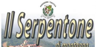 Domenica ci sarà il Serpentone di montagna tra i vicoli di Marcetelli