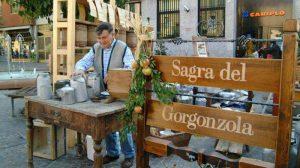 Alla Sagra del Gorgonzola, nel paese omonimo, per tanti peccati di gola