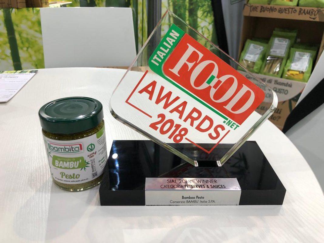 Il Pesto di Bambù Bambita premiato al Sial di Parigi