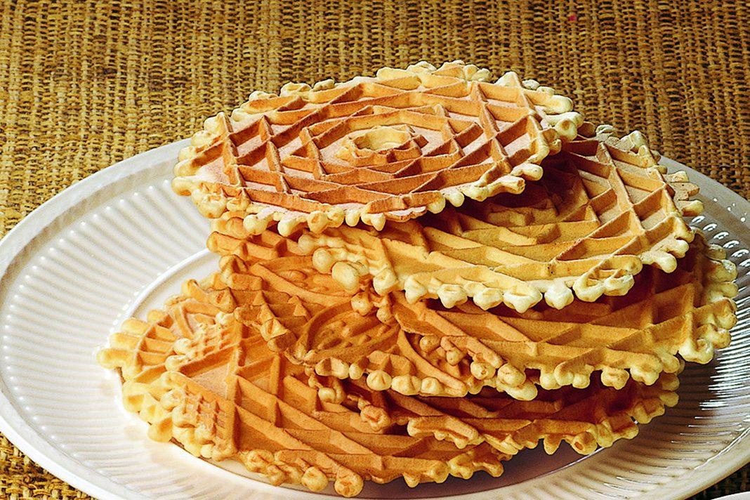Prodotti tipici locali; le Neole, gustose ferratelle abruzzesi