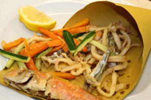 Piatti e prodotti tipici locali: dal Salento la Scuma di mari rracanata