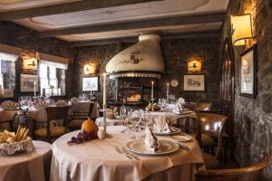 Una cena al Castello di Spessa con la Rosa dell'Isonzo