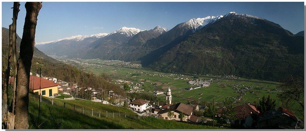 Città, paesi e borghi: Buglio in Monte, nella Bassa Valtellina