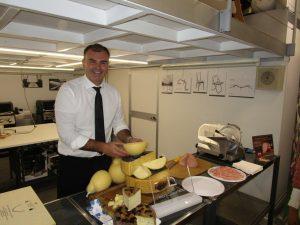 Roberto Guermandi, il formaggio fatto persona