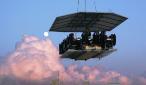 Dinner in the Sky, tre grandi chef pronti per una cena tra le nuvole