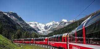 Il Trenino Rosso del Bernina: molto di più di un viaggio in treno