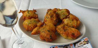 polpette di baccalà - bolinhas de bacalhau