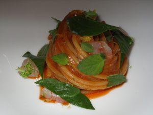 Lo spaghetto con bisque ed erbe: per molti ma non per tutti