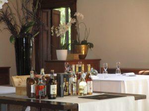 La principesca selezione di vermouth e distillati