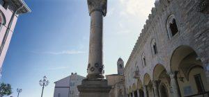 Bertinoro, Colonna delle anella