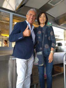 Igles Corelli con Maki Fukuoka