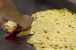 Making panettone