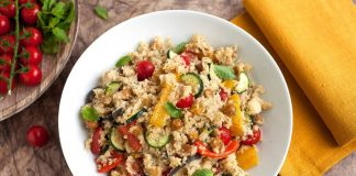 Cous cous all'amatriciana