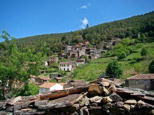 villaggio di scisto