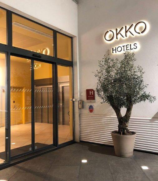 OKKO hotel Ingresso piazza Stazione