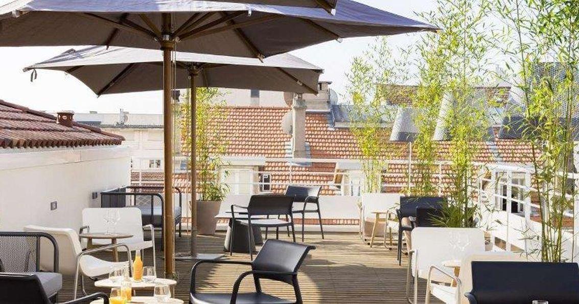 Okko Hotel terrazza con vista