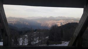 panorama dal Melegnon